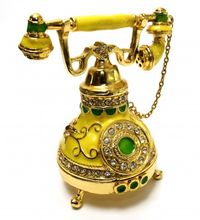 Old French style telephone