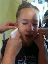Vanessa Having Ears Pierced 83