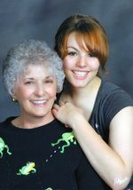 Yvonne Costin with granddaughter, Angelina