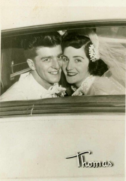 Wedding Picture, Uncle Ralph and Aunt Toni