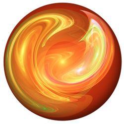 Orange Ball of Wax