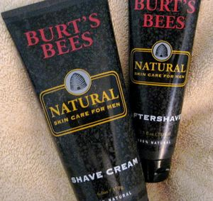 Burt's Bees Shaving Cream & Aftershave