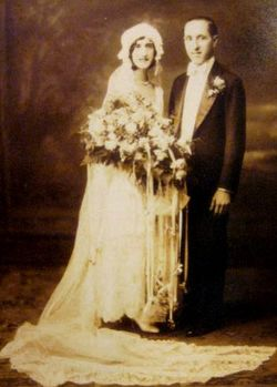 Grandma & Grandpa's Wedding Portrait 1929