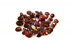 loose Garnets, January birthstone