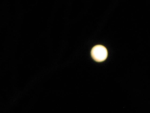 Full moon January 2012