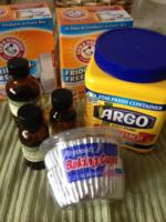 Shower disk ingredients