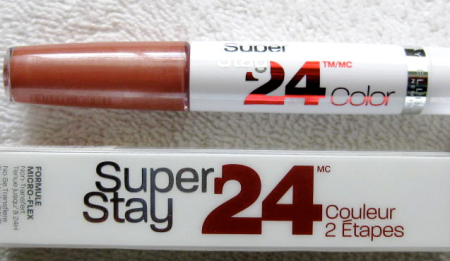 Maybelline's SuperStay 24 Lip Color