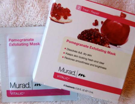 Murad Pomegranate Exfoliating Mask package