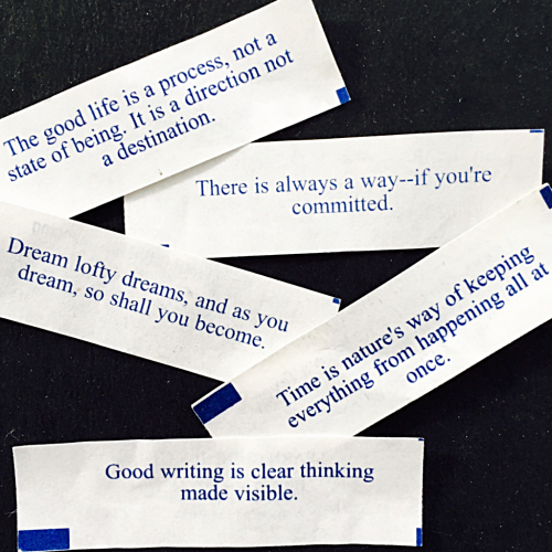 Chinese Fortune Cookie Fortunes
