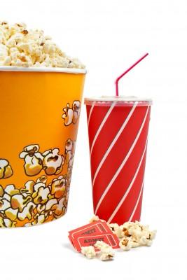 Popcorn soda movie tickets