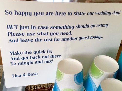 Wedding basket poem