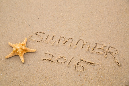 Summer 2015 starfish sand