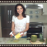 How To Core A Pineapple (Video); A Simple Way To Remove The Fresh, Juicy Fruit!