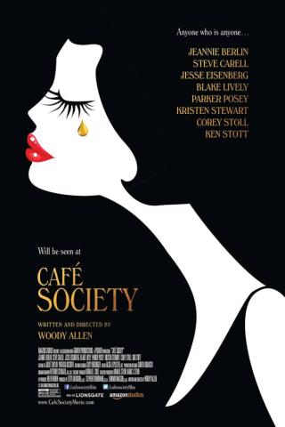 Cafe Society movie poster