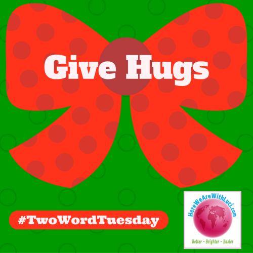 Give hugs twt