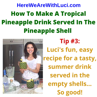 Pineapple Shell Tip #3  with Luci Weston