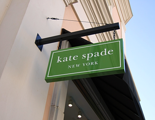 Kate Spade store sign