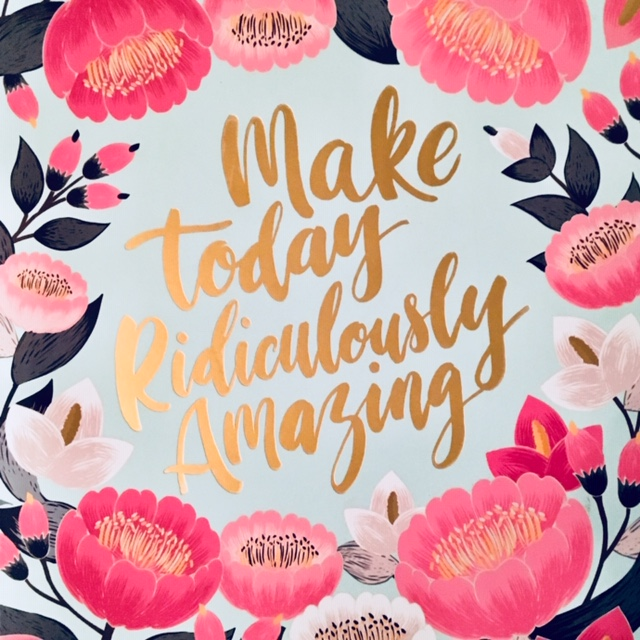 Make Today Amazing qraphic