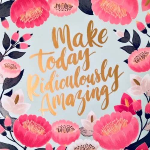 Make Today Amazing qraphic